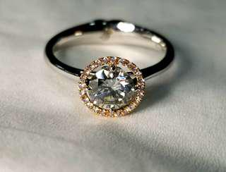 diamond fancy gray K/VS1, IGI cert. 0.777ct