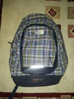 North Face Vault Checkered Backpack Authentic