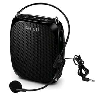 🚚 Voice Amplifier Speaker Microphone Sleek Design Lightweight Wired Personal Portable PA System For Teachers, Speakers, Tour Guides