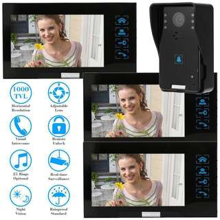 KKmoon 7'' Door Video Intercom!!