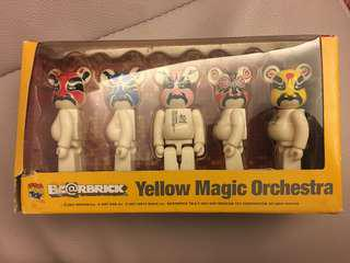 Bearbrick 100% Yellow Magic Orchestra