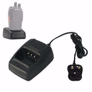 🚚 Desktop Battery Charger Base for walkie talkie Baofeng BF-888S BF-666S BF-777S HST H777 888S
