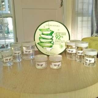 Nature Republic Aloe Vera 92% Soothing Gel Original - Share in Jar
