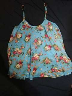 Floral breastfeeding top