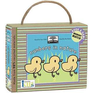 InnovativeKids Numbers in Nature Memory Match