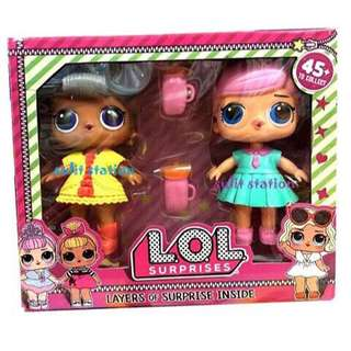 LOL SURPRISE DOLL GIRLS TOY FIGURE CAKE TOPPER