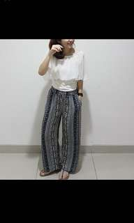 [RED EDITION] Long Tribal Culottes