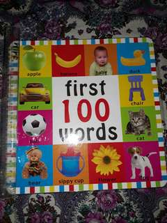 Educational Books: First 100 Words