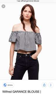 NWT Wilfred Garance Blouse