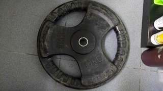 Rubber weight plates with handles(10kg)