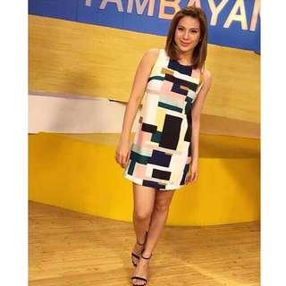 Celebrity Stripe Bodycon Dress