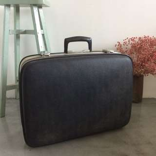CLEARANCE - Vintage Blue Suitcase