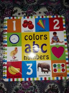 Educational Books: Colors, ABC, Numbers