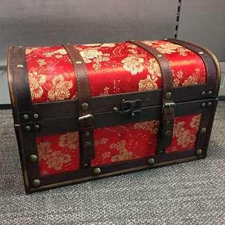 Special Design Treasure Wooden Box