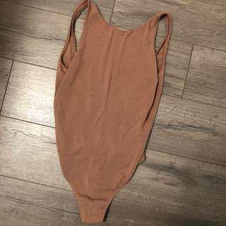 ARITZIA LOW BACK BODYSUIT