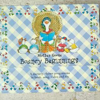 Mother Goose Bouncy Beginnings Nursery Rhymes