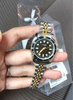 New! VNC watch (gold&silver)