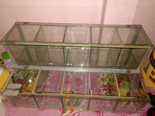 Glass Cabinet (lagayan ng candies etc.)