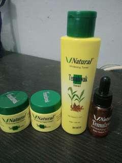Natural Temulawak 1 paket