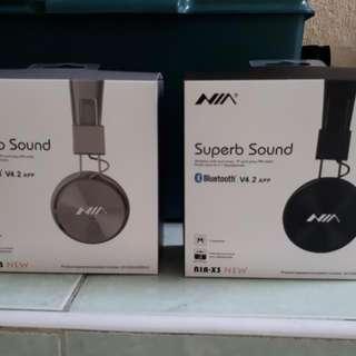 NIA X3 4-in-1 Bluetooth Headset