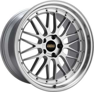 BBS LM 18x8 5x114 offset 42 with tire yokohama AE50 235/40/18