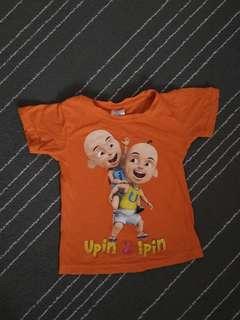 Upin ipin shirt