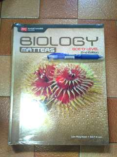 Top Student Biology Matters GCE O Level 2nd Edition Textbook