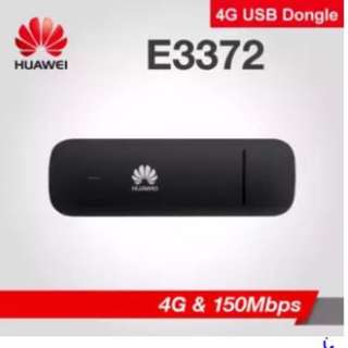 🚚 Huawei E3372 (BLACK) 4G & 150Mbps Dongle USB Modem USB Stick USB Router Wingle. 150Mbps