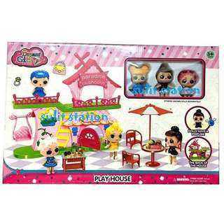 LOL SURPRISE DOLL GIRLS PLAY HOUSE TOYS