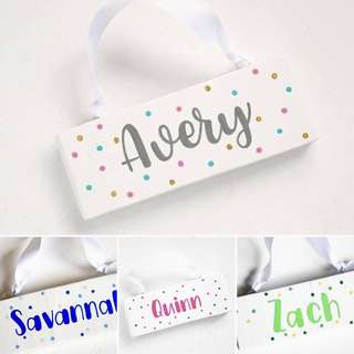 ** Special price **  Customised personalised Name plate / plaques / room plate / birthday gift / birthday boy / birthday girl / baby gifts / maternity / baby shower / theme party / return gift / kids birthday / party decorations