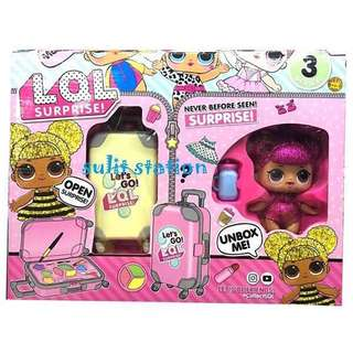 LOL SURPRISE DOLL GIRLS ACCESSORIES in LUGGAGTOYSE BAG
