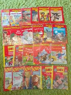 Adventure Box 英文圖書 英文故事書 (每本$18 each) 平過書展