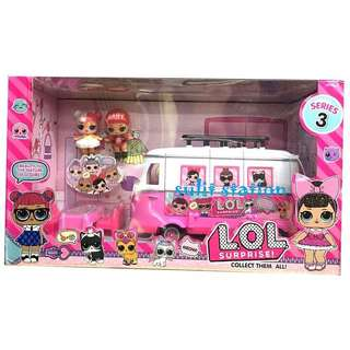 LOL SURPRISE DOLL GIRLS SHOPPING VAN TOYS