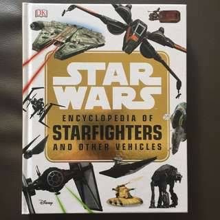 🚚 DK Star Wars encyclopedia of star fighters vehicles guide