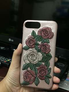CASE BERSHKA EMRBROIDERED ROSE Iphone 6 PLUS/6s Plus