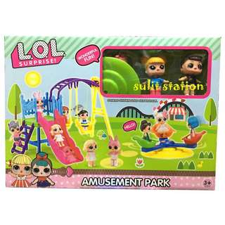 LOL SURPRISE GIRL DOLL AMUSEMENT PLAYGROUND PARK TOYS
