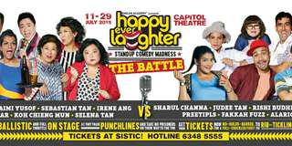 Happy Ever laughter 1 pair tickets 11 July cat 1