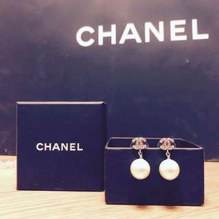 Chanel Earrings 耳環 珍珠Pearl 購自英國Harrods