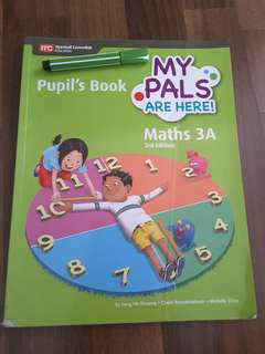 P3 Textbook - My Pals are Here! Math Pupil's Book 3A
