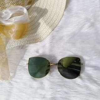 Green Mirror Lens Eyewear