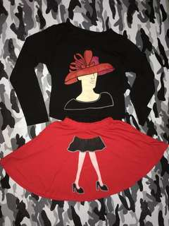 Dress CropTee Red