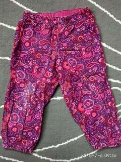 H&M Baby Girl Paisley Pants