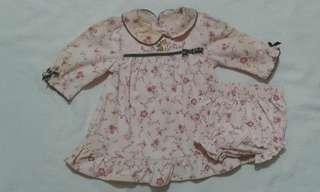 Walt Disney baby dress set