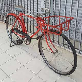 Old Malaya Postman Bicycle