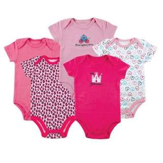 5pcs Carter's Baby Girl Romper Set Clothe Clothing baju Bayi