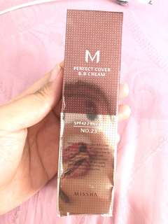 Brand New Missha Perfect Cover BB Cream