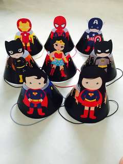 Superhero Children Party Hat