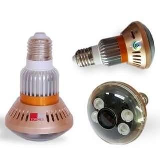 🚚 原廠正品 HD960P 燈泡型無線監視器