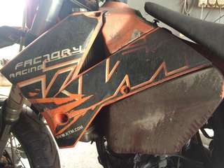 KTM 2008 accessories for sale