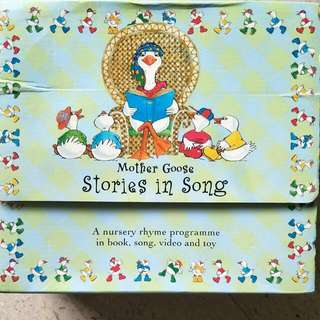 Mother Goose Stories In Song